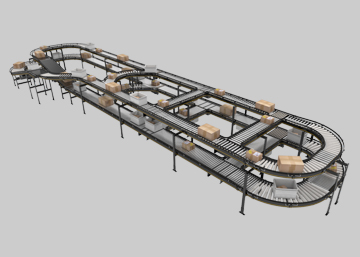 MCP Modular Conveyor Platform | Interroll Group