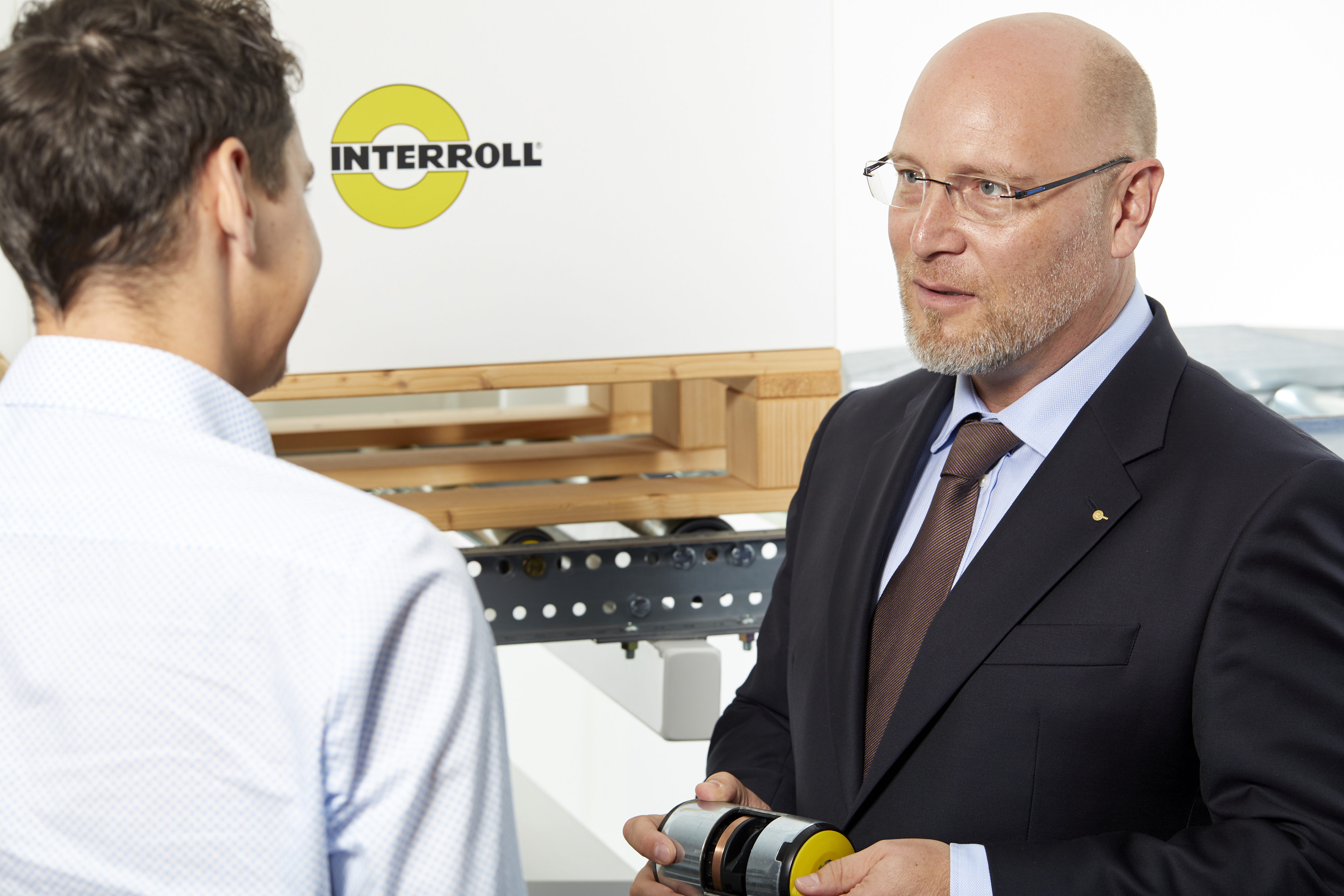 Jörg Mandelatz, Managing Director at Interroll Fördertechnik GmbH in Wermelskirchen