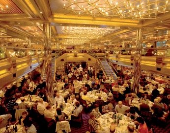 Logistics In The Kitchen Of A Line Cruise Ship - Cruise ship kitchen