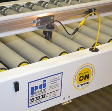 Roller conveyors from Pack Air Inc.