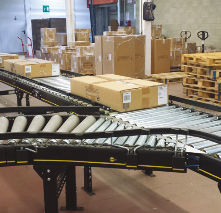 Maintenance and minor repair work can be carried out during ongoing operation, and due to its modular design, the Interroll solution can be optimally extended at any time to meet future requirements.